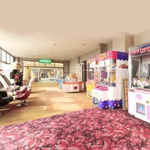 ラドン温泉 懐かしいゲームコーナー