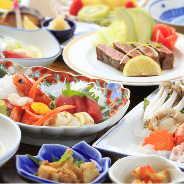 会席料理・Aコース